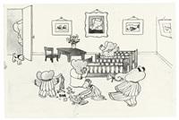 when the little elephants woke (not forgetting duck and zephir) by jean de brunhoff