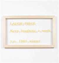 laugh piece by yoko ono