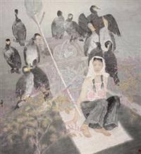 月上中天 (fisher) by liang wenbo