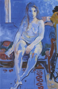 blue nude by ian armstrong