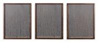 sans titre (triptych) by richard long