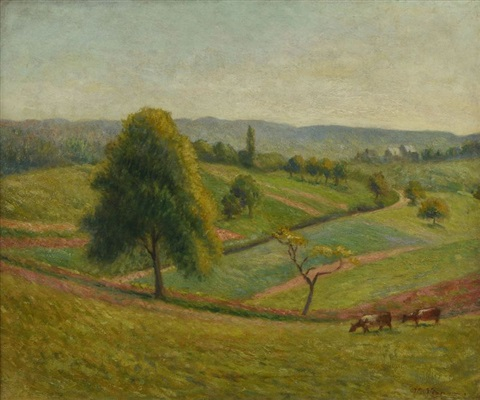 paysage by victor alfred paul vignon