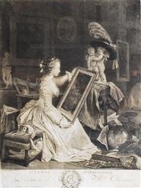 elève intéressante (+ triomphe de minette; pair) by marguerite gérard