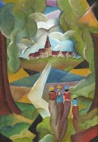 retour au village by patrick leroy