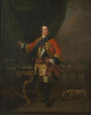 william duke of cumberland by david morier