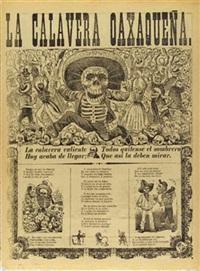 la calavera oaxaquena by josé guadalupe posada