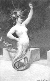 mermaid by jules garvin