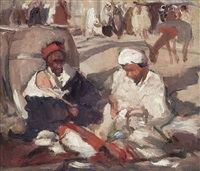 in the marketplace by john duncan fergusson