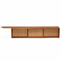 hanging wall case by george nakashima