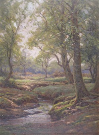 a new forest stream by frederick golden short