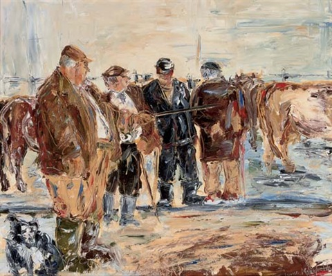 the cattle market by louise mansfield