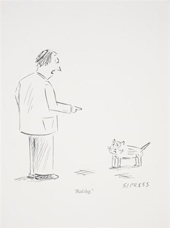 new yorker cartoon drawing no 9 by karl haendel