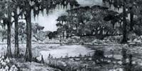 moss-draped oaks by cynthia pugh littlejohn