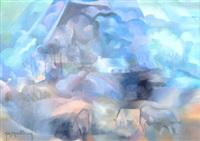 orage sur lampaul by yves mériel-bussy