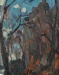 la roche noire by albert raty