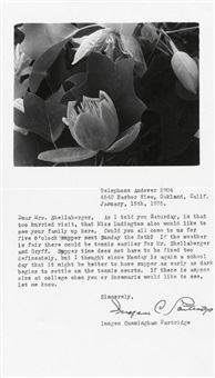 magnolia flowers with leaves by imogen cunningham