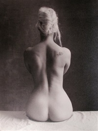 untitled (nude) by yvone le marlec
