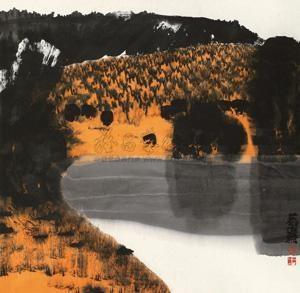 山水 by lin ruoxi