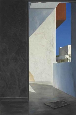 untitled (walls and shadows) by atul dodiya