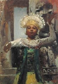 gambuh dancer by romualdo locatelli