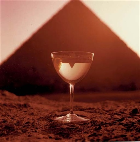 smirnoff great pyramid of giza by bert stern