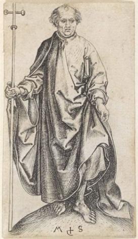 apostel philippus by martin schongauer