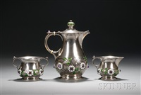 coffee service (set of 3) by david anderson