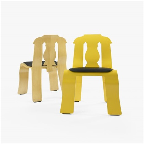 empire chairs pair by robert venturi