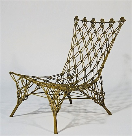 Chaise Knotted Chair By Marcel Wanders