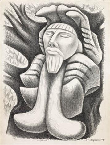 quetzalcóatl by raúl anguiano