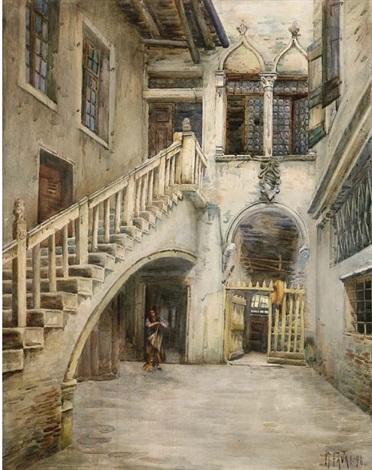 cortile a venezia by gennaro favai