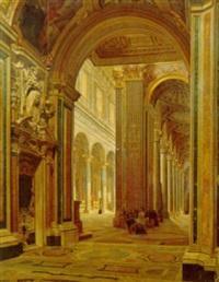 interno di chiesa by enrico gaeta