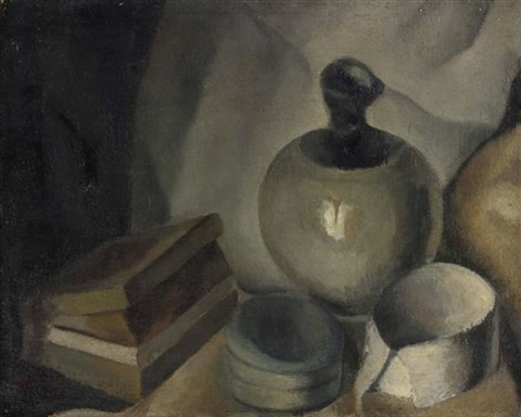 still life by mané katz