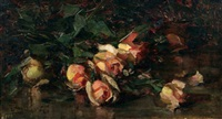 still life with roses by mary augusta hiester reid