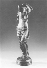 a bound slavegirl by emile françois rousseau
