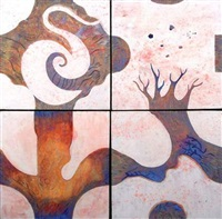 white roots (4 works) by séverin krön
