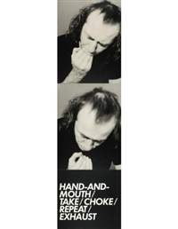hand & mouth (2 works from 3 adaptation studies) by vito acconci