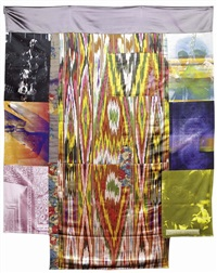 samarkand stitches #3 by robert rauschenberg