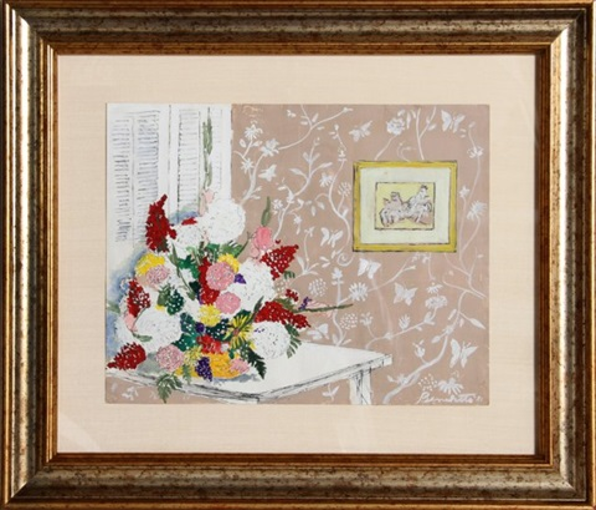 flower bouquet by tony bennett