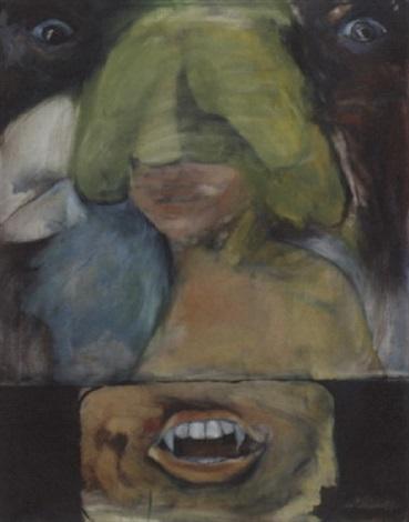 portrait dune femme vampire by paul de lussanet