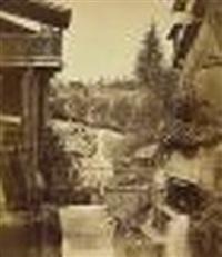 cascade de grési, savoie by victor muzet