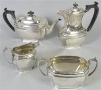 tea service (set of 4) by george howson