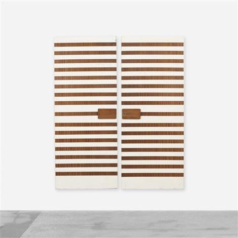 customized doors (pair) by cristina longo and gio ponti  sc 1 st  Artnet & Customized doors pair by Cristina Longo and Gio Ponti on artnet