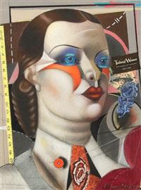 tailored woman by shimon okshteyn