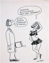 qu'est-ce que ça veut dire bander? by georges wolinski