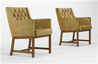 arm chairs (pair) by erik karl exselsius