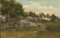 rocky clearing by george frank higgins