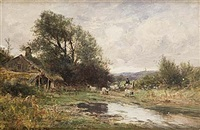 near conway, north wales by arthur wellesley cottrell