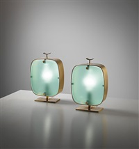 table lamps, model no. 2049 (pair) by fontana arte