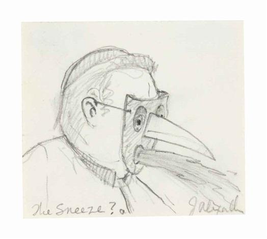 The Sneeze by John Alexander on artnet
